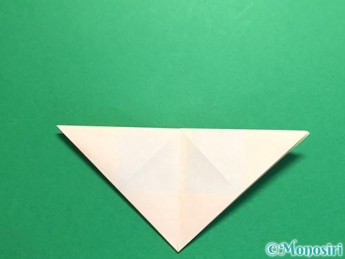 折り紙で立体的なひまわりの折り方手順13