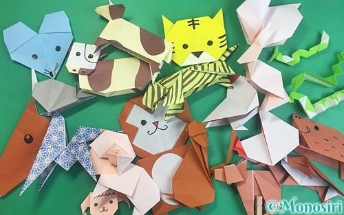 折り紙で折った干支