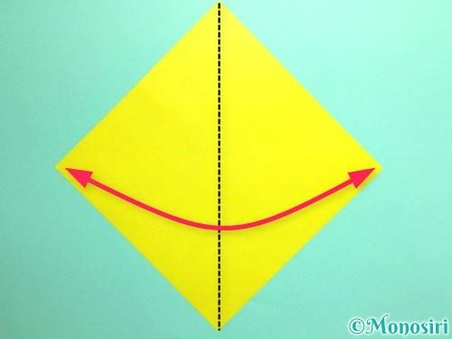 折り紙でとうもろこしの折り方手順1