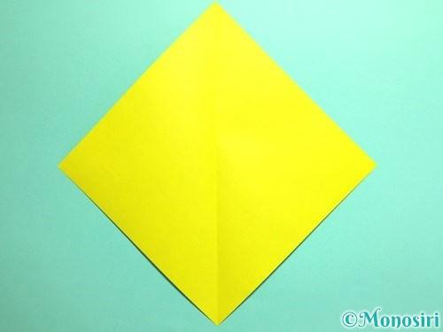 折り紙でとうもろこしの折り方手順2