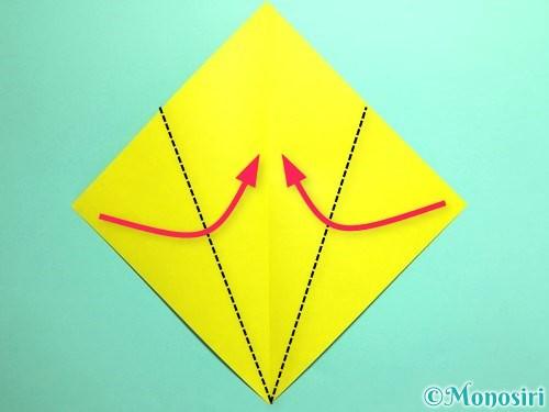 折り紙でとうもろこしの折り方手順3