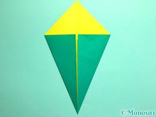 折り紙でとうもろこしの折り方手順4