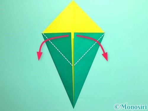 折り紙でとうもろこしの折り方手順5