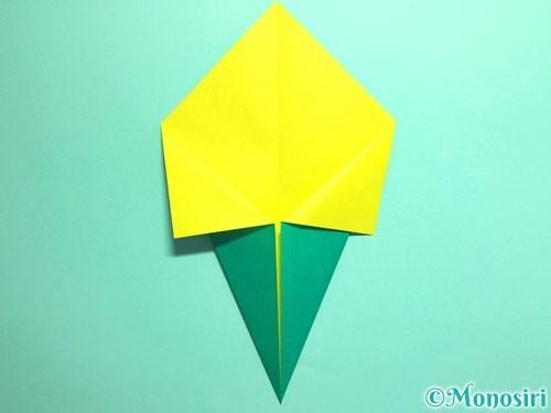 折り紙でとうもろこしの折り方手順6