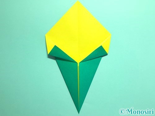 折り紙でとうもろこしの折り方手順8