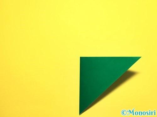 折り紙でピーマンの折り方手順4