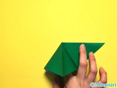 折り紙でピーマンの折り方手順6