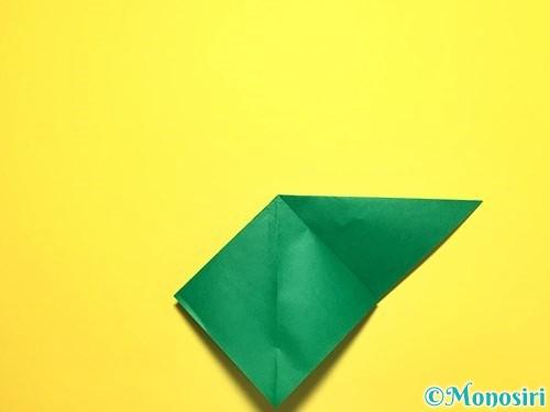 折り紙でピーマンの折り方手順8