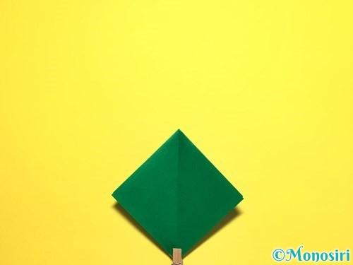 折り紙でピーマンの折り方手順9