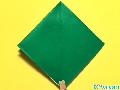 折り紙でピーマンの折り方手順11
