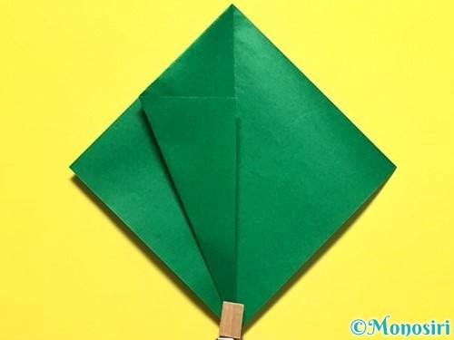 折り紙でピーマンの折り方手順13