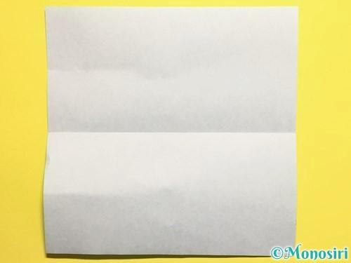 折り紙できゅうりの折り方手順2