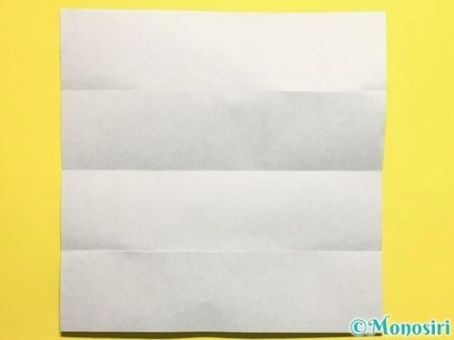 折り紙できゅうりの折り方手順4