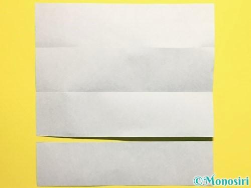 折り紙できゅうりの折り方手順5