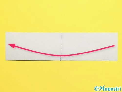 折り紙できゅうりの折り方手順6