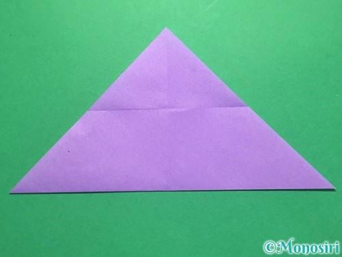 折り紙でなすの折り方手順16
