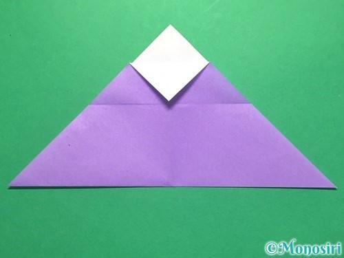 折り紙でなすの折り方手順18