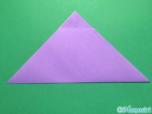 折り紙でなすの折り方手順20
