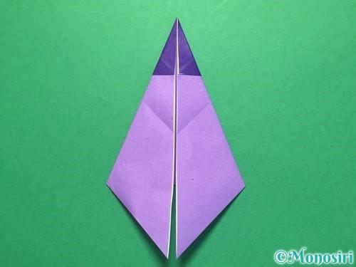 折り紙でなすの折り方手順22