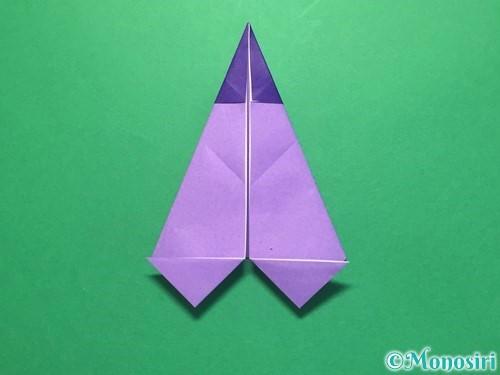 折り紙でなすの折り方手順24