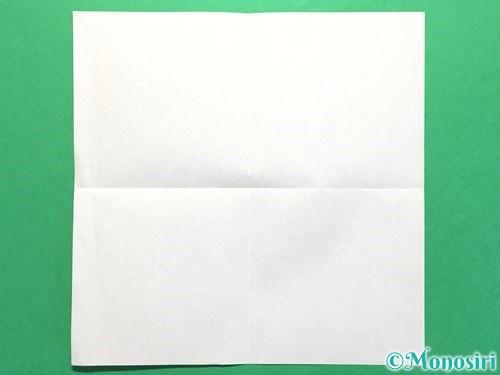 折り紙でお墓の折り方手順2