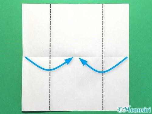 折り紙でお墓の折り方手順3