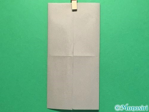 折り紙でお墓の折り方手順4