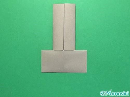 折り紙でお墓の折り方手順7