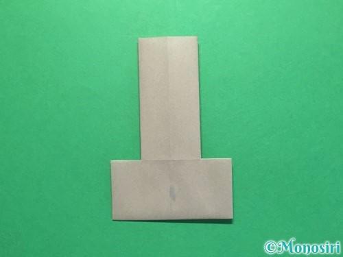 折り紙でお墓の折り方手順8