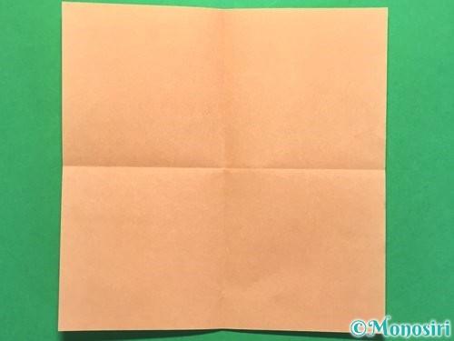 折り紙でお墓の折り方手順10