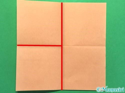 折り紙でお墓の折り方手順11