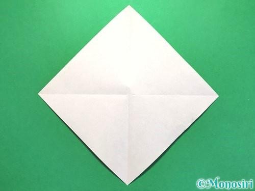 折り紙でお墓の折り方手順14