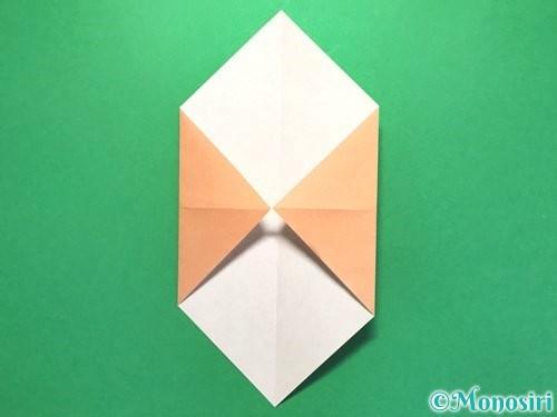 折り紙でお墓の折り方手順16