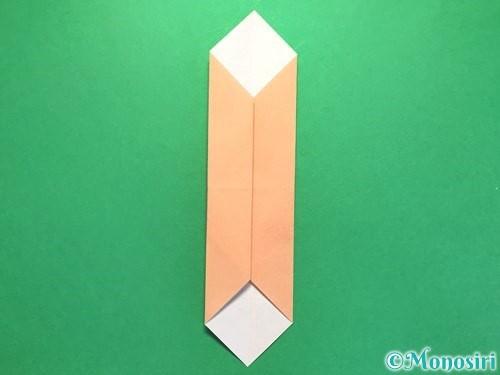 折り紙でお墓の折り方手順18