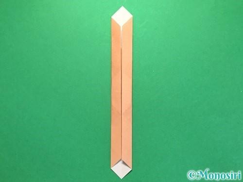 折り紙でお墓の折り方手順20