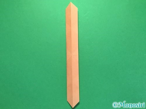 折り紙でお墓の折り方手順21