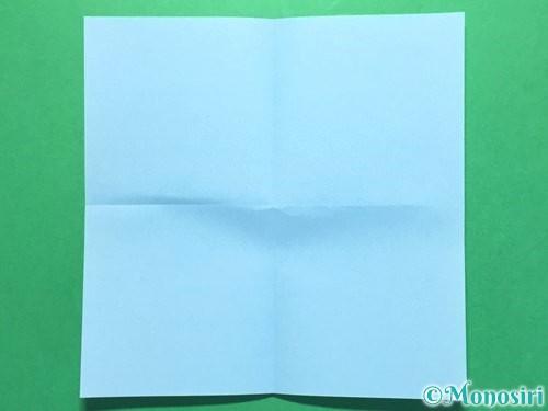 折り紙で火の玉の折り方手順2