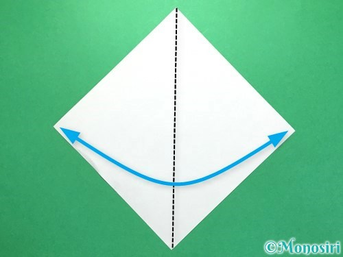 折り紙で火の玉の折り方手順7