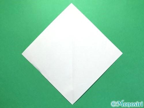 折り紙で火の玉の折り方手順8