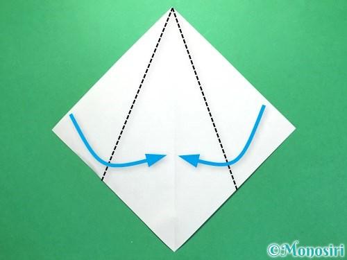 折り紙で火の玉の折り方手順9