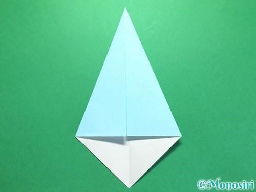 折り紙で火の玉の折り方手順10