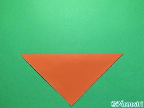 折り紙でから傘お化けの折り方手順2