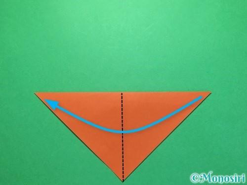 折り紙でから傘お化けの折り方手順3