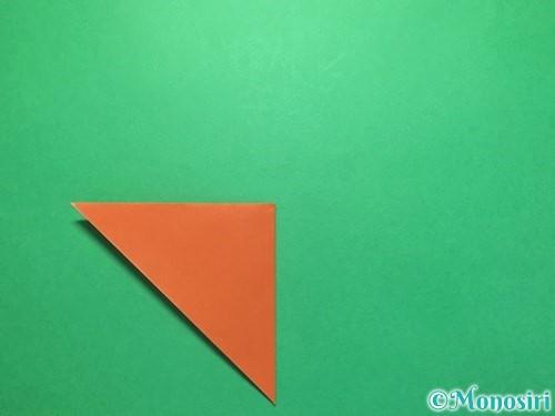折り紙でから傘お化けの折り方手順4