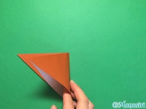 折り紙でから傘お化けの折り方手順5