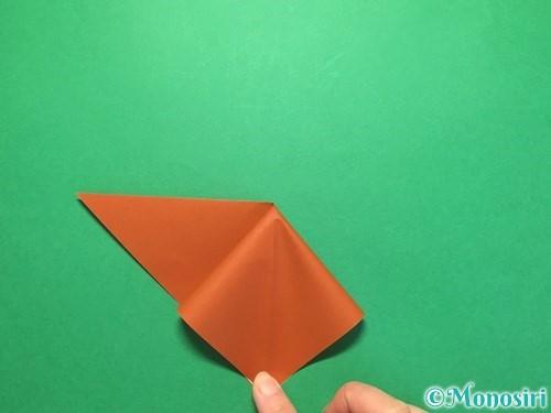 折り紙でから傘お化けの折り方手順7