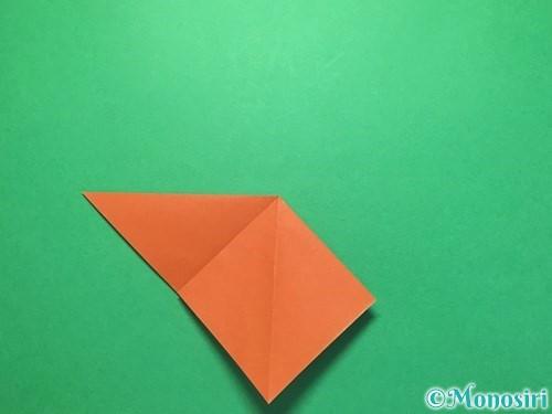 折り紙でから傘お化けの折り方手順8