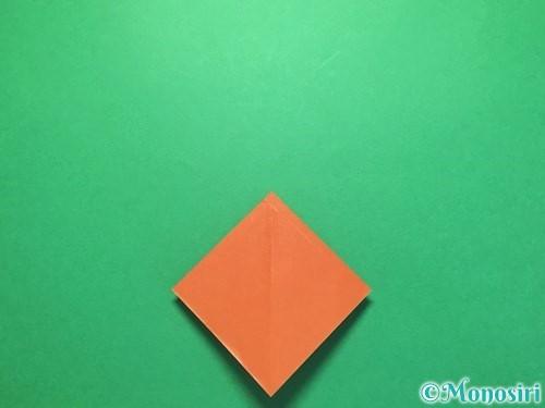 折り紙でから傘お化けの折り方手順9