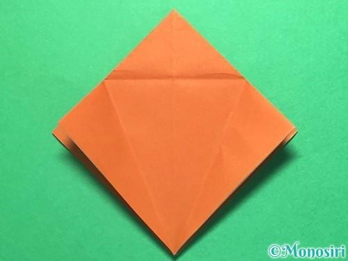 折り紙でから傘お化けの折り方手順11