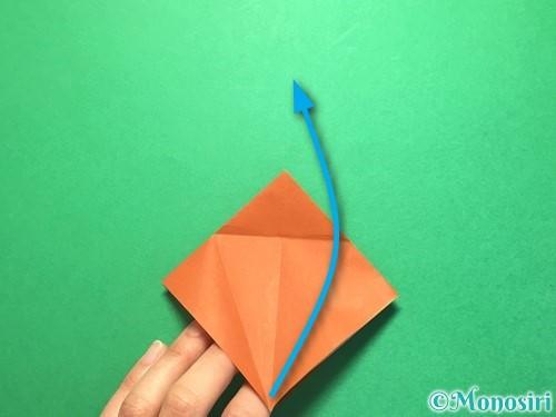 折り紙でから傘お化けの折り方手順12